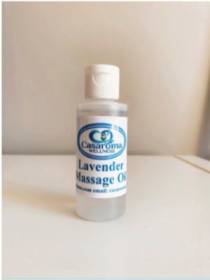 Lavender Massage Oil- Casaroma Wellness Centre
