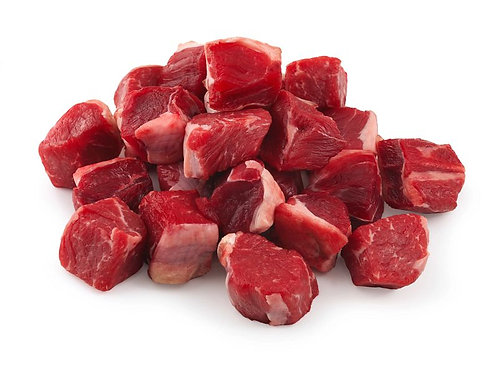 Beef Stew Meat (Grass Fed - Frozen) - Pasture Hill Farm