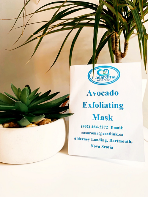 Avocado Face Mask - Casaroma Wellness Centre