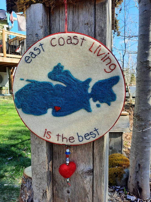 """East Coast Living is the Best"" - Meraki Designs"
