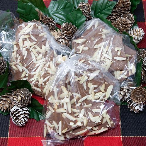 Chocolate Kindling (Chocolate Almond Bark) - Axe to Grind