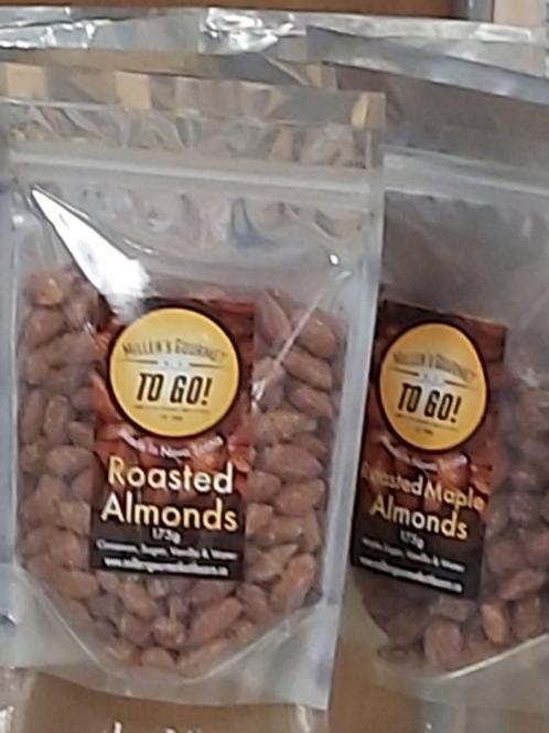 Glazed Roasted Almonds (175g) - Miller's Gourmet Kettlecorn