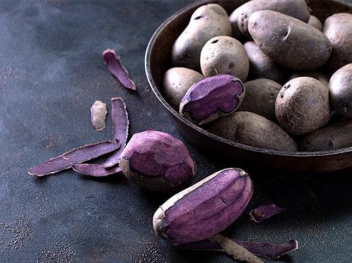 Fresh Purple Potatoes (3 lb bag) - Swooping Swallow Farm