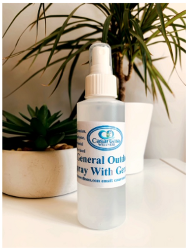 General Outdoor Spray with Geranium- Casaroma Wellness Centre