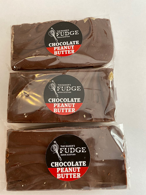 Peanut Butter Chocolate Fudge - The Baker's Fudge