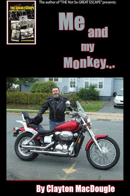 Me & My Monkey (Book) - by local author Clayton MacDougle