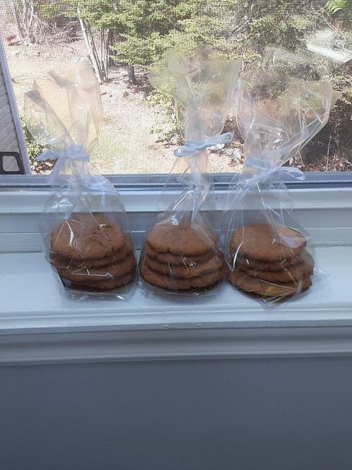 Ginger Snaps Cookies (4 pack) - Amanda's Homemade Sweets