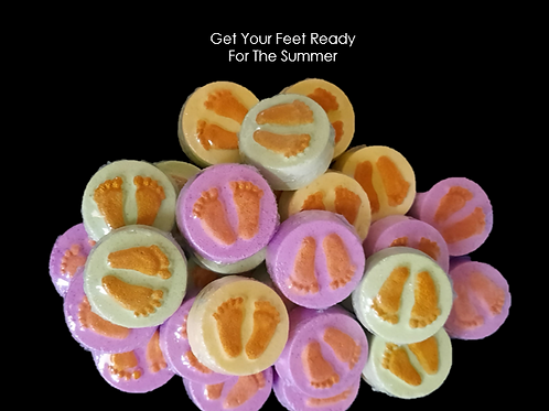 Foot Soakers (3 pk) - Pleasure Soaks Bath and Body