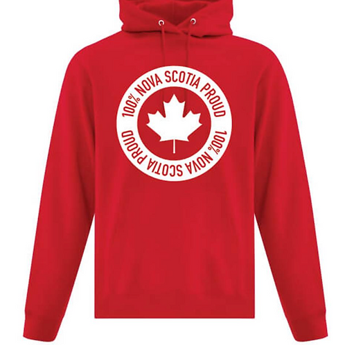 100% Nova Scotia Strong and Proud Hoodies - Teens Now Talk