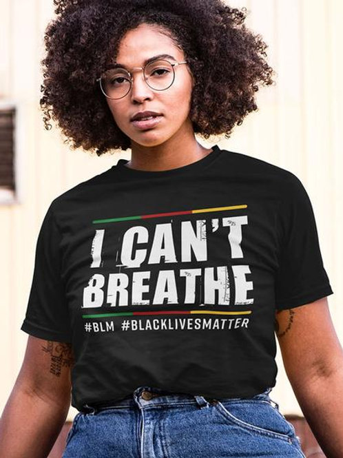 I Can't Breathe T Shirts - Teens Now Talk