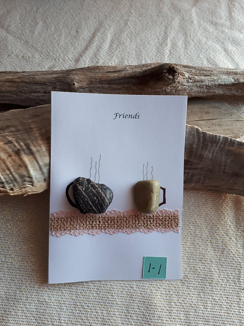 Greeting Card (Friends 1-1) - Sea to Shore