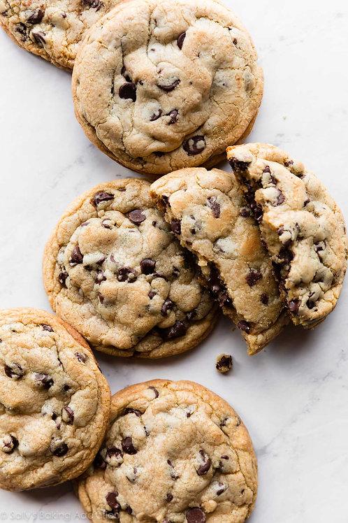 Chocolate chip cookies (dozen) - The Community Baker
