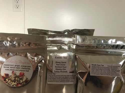 Herbal Teas - Tina Friesen