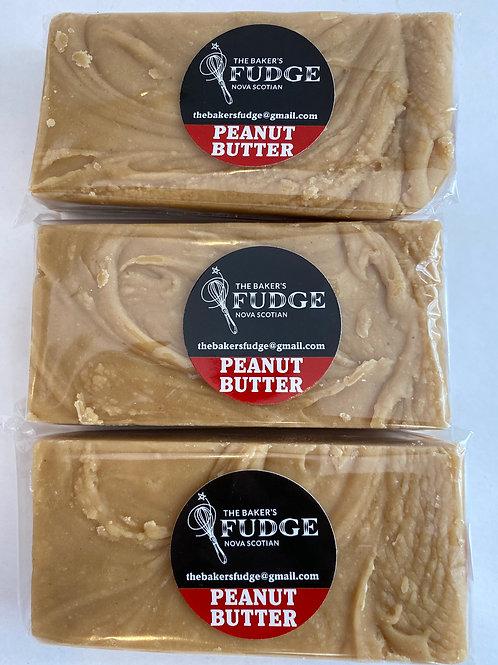 Peanut Butter Fudge - The Baker's Fudge