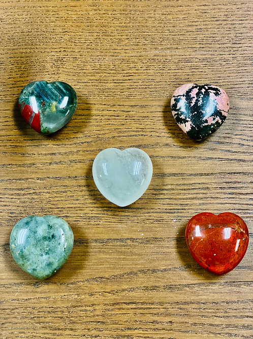 Puffed Heart of Healing Crystals (ea) - Elements By Drala