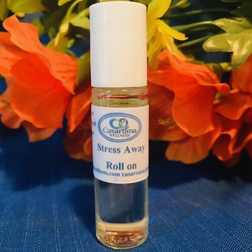 Stress Away Roll-On (10ml) - Casaroma Wellness Centre
