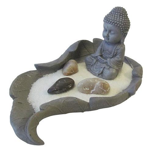 Zen Garden - Buddha in Leaf - Mini - Elements By Drala