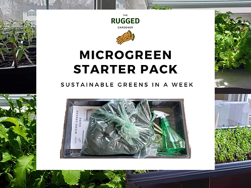 Microgreen Starter Kit - The Rugged Gardener