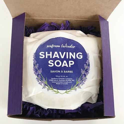 Shaving Soap (116 g) - Seafoam Lavender Company