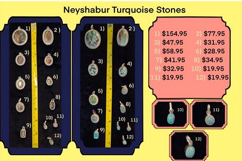 Neyshabur Turquoise Stones - Prized Importers