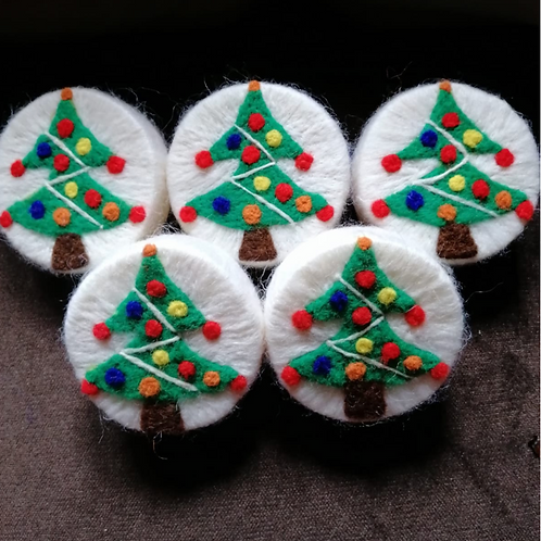 Felted Soap (Christmas Tree) - Magic of Wool