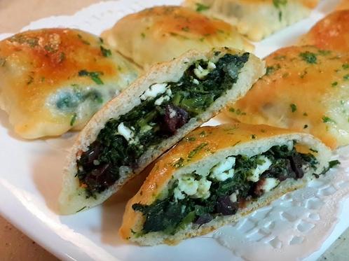 Spinach & Cheese Fatayer - Bluebird Kitchen
