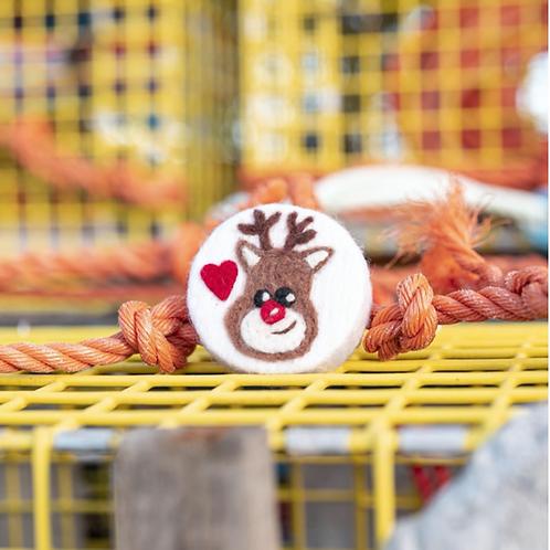 Felted Soap (Santa Reindeer) - Magic of Wool