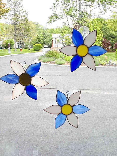 Stained Glass Nova Scotia Strong (7 inch) - Artisans Window Handcrafted Produ