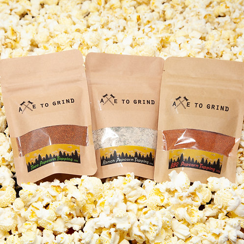 Popcorn Toppings - Axe to Grind