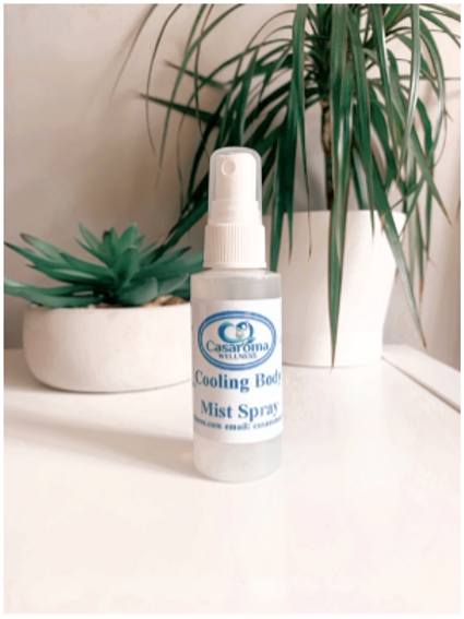 Cooling Body Mist Spray - Casaroma Wellness Centre