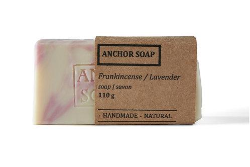 Frankincense- Lavender Soap Bar - Anchor Soap