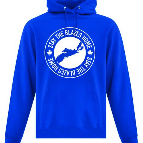 Stay the Blazes Home Hoodies - Teens Now Talk