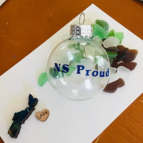 Glass Ball Ornaments Authentic NS Sea Glass - Nature's Best Rocks