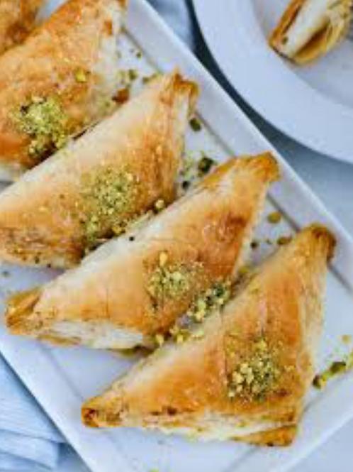 Egy. Baqlawa Cream Filled (1pcs) - Bluebird Kitchen
