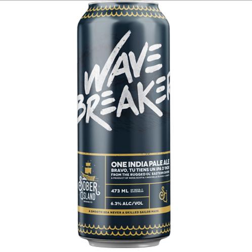 Wavebreaker IPA - Sober Island Brewing Co.