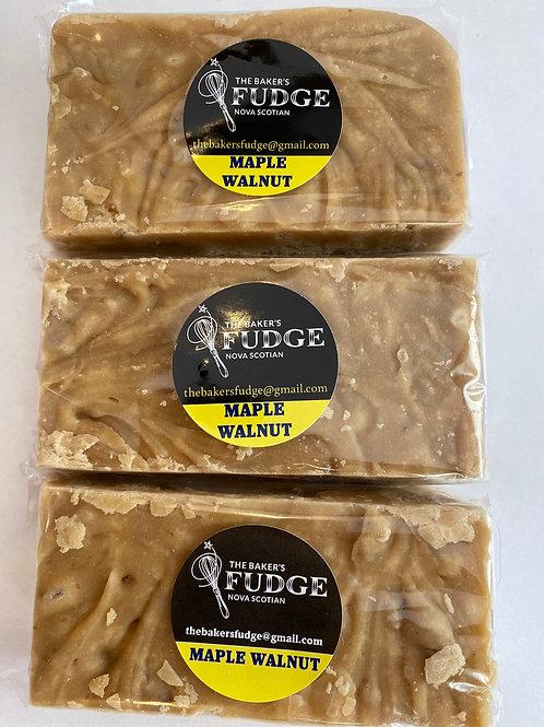 Maple Walnut Fudge - The Baker's Fudge