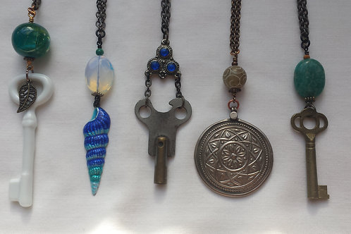 Upcycled Pendants - Gaia Creations
