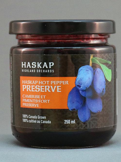 HASKAP Hot Pepper Preserve (250ml) - HASKAP Highland Orchards
