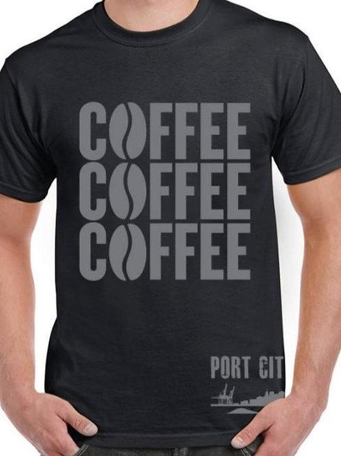 Coffee/ Cookie T-Shirts - Port City Coffee