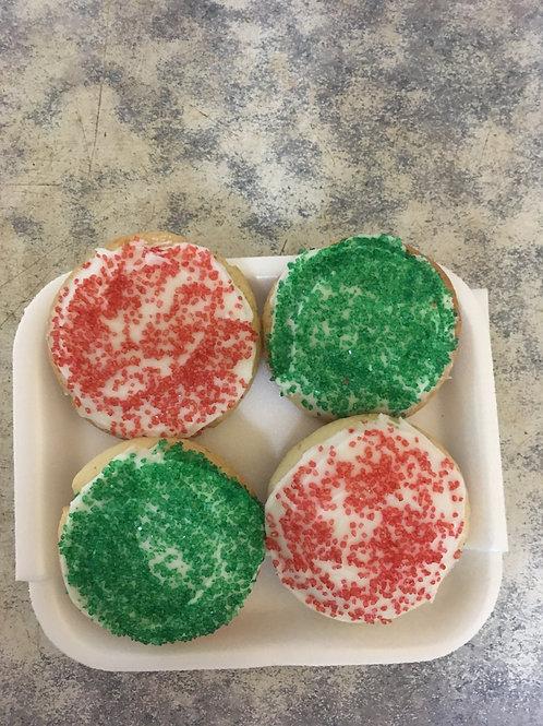 Sugar Cookies (4 per pkg) - Swooping Swallow Farm