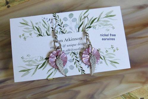 Cute As A Button Earrings #1 - Linn's Creative Jewelry