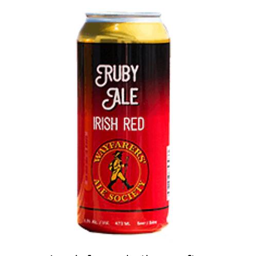 Ruby Ale Irish Red - Wayfarer's Ale Society