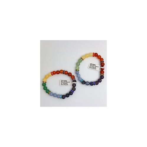 Bracelets - 7 Chakras - Elements By Drala