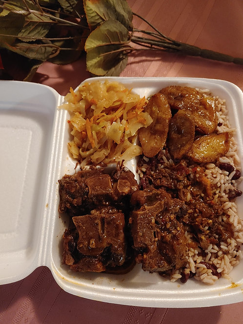 Stewed Oxtail - Unique Catering Services