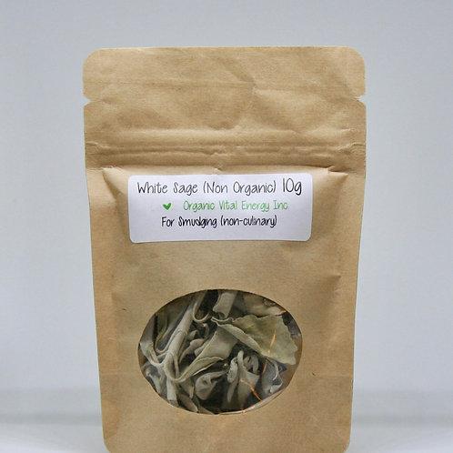 Sustainably Harvested Ceremonial White Sage - Love Organic Vital Energy