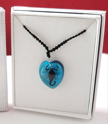 Scorpion Heart - Blue