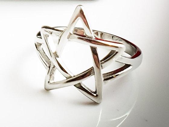Pentagram Ring SS 316L