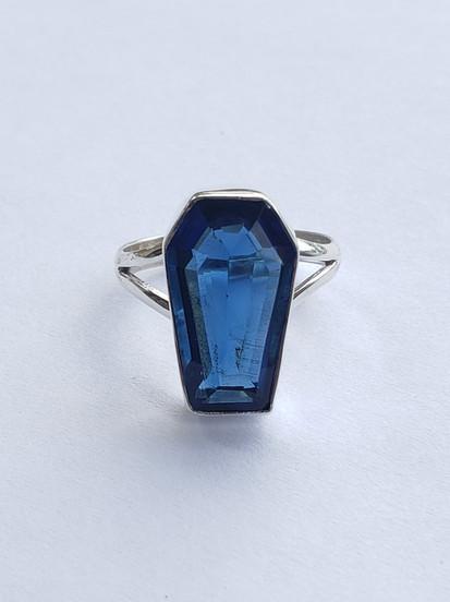 Tanzanite Coffin Ring.jpg