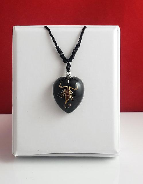 Scorpion noir - Coeur noir