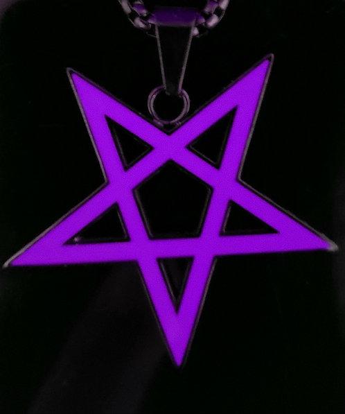 Pentagram - Black/Purple